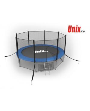 Батут Unix 14 ft outside (Blue)