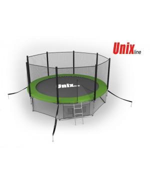 Батут Unix 14 ft outside (Green)