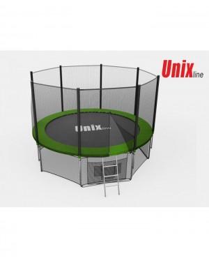 Батут Unix 8 ft outside (Green)