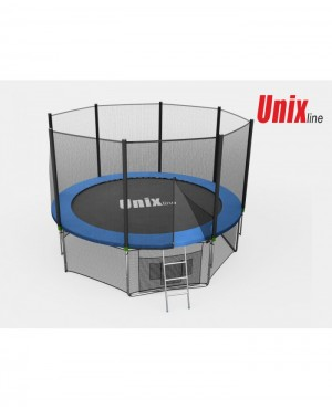 Батут Unix 8 ft outside (Blue)